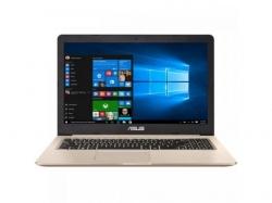 Laptop ASUS VivoBook Pro 15 N580VD-FZ812T, Intel Core i7-7700HQ, 15.6inch, RAM 8GB, HDD 500GB + SSD 128GB, nVidia GeForce GTX 1050 4GB, Windows 10, Gold