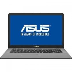 Laptop ASUS VivoBook Pro 17 N705UF-GC007, Intel Core i5-8250U, 17.3inch, RAM 8GB, HDD 1TB + SSD 128GB, nVidia GeForce MX130 2GB, Endless OS, Grey
