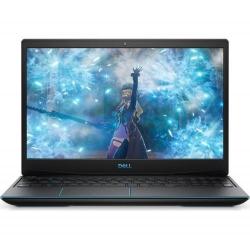 Laptop Dell Inspiron G3 3590, Intel Core i5-9300H, 15.6inch, RAM 8GB, HDD 1TB + SSD 256GB, nVidia GeForce GTX 1650 4GB, Windows 10, Eclipse Black