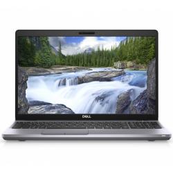 Laptop Dell Latitude 5511, Intel Core i5-10400H, 15.6inch, RAM 8GB, SSD 256GB, Intel UHD Graphics, Windows 10 Pro, Grey