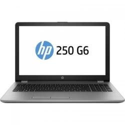 Laptop HP 250 G6, Intel Core i3-7020U, 15.6inch, RAM 4GB, HDD 500GB, Intel HD Graphics 620, FreeDos, Silver