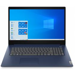 Laptop Lenovo IdeaPad 3 17IIL05, Intel Core i3-1005G1, 17.3inch, RAM 8GB, SSD 256GB, Intel UHD Graphics, Windows 10, Abyss Blue