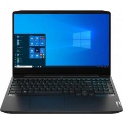 Laptop Lenovo IdeaPad Gaming 3 15ARH05, AMD Ryzen 5 4600H, 15.6inch, RAM 8GB, SSD 256GB, nVidia GeForce GTX Ti 1650 4GB, No OS, Onyx Black