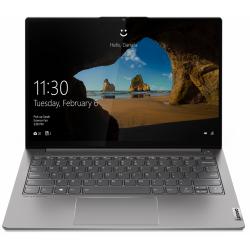 Laptop Lenovo ThinkBook 13s-ITL G2, Intel Core i5-1135G7, 13.3inch, RAM 8GB, SSD 256GB, Intel Iris Xe Graphics, Windows 10 Pro, Mineral Grey