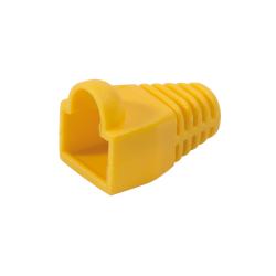 Manson Logilink pentru RJ45, 100buc, Yellow