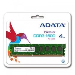 Memorie Adata 4GB, DDR3-1600MHz, CL11