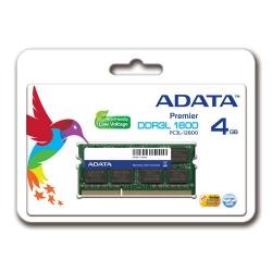 Memorie SO-DIMM A-Data 4GB DDR3-1600Mhz, CL11 Retail