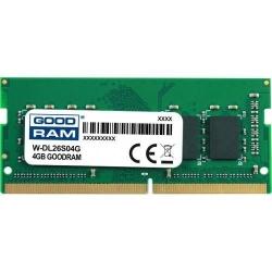 Memorie SO-DIMM Goodram W-DL26S04G 4GB, DDR4-2666MHz, CL19