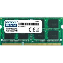 Memorie SO-DIMM Goodram W-HP16S04G 4GB, DDR3-1600MHz, CL11