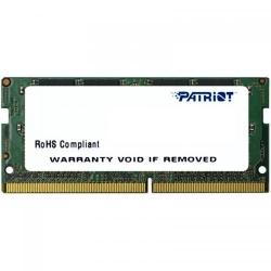 Memorie SO-DIMM Patriot Signature 8GB, DDR4-2133MHz, CL15