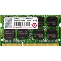 Memorie SO-DIMM Transcend 4GB DDR3-1333Mhz, CL9
