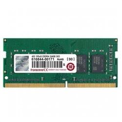 Memorie SO-DIMM Transcend JetRam 4GB, DDR4-2400MHz, CL17