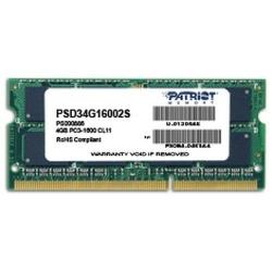 Memorie SODIMM Patriot 4GB, DDR3-1600MHz, CL11