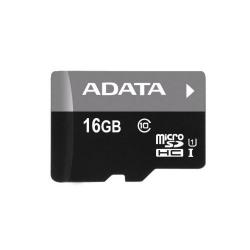 Memory Card A-Data Premier MicroSDHC 16GB, class 10 + SD adapter