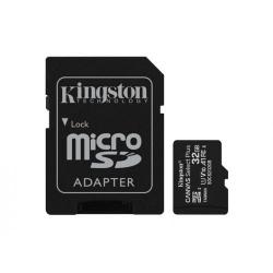 Memory Card Kingston Canvas Select Plus microSDHC 32GB, Clasa 10  + Adaptor SD