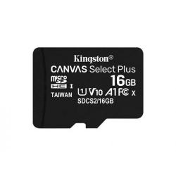 Memory Card Kingston Canvas Select Plus micSDHC 16GB, Clasa 10