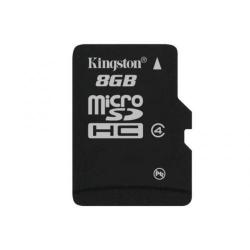 Memory card Kingston MicroSDHC 8GB, Clasa 4