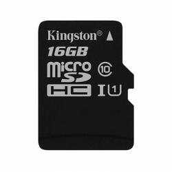Memory Card Kingston microSDHC Canvas Select 16GB, Clasa 10