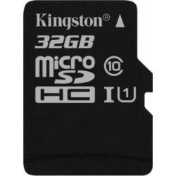 Memory Card Kingston microSDHC Canvas Select 32GB, Clasa 10