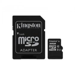 Memory Card Kingston microSDXC Canvas Select 32GB, Class 10 + Adaptor SD