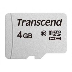 Memory card Transcend 300S microSDHC 4GB, Clasa 10