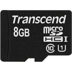 Memory Card Transcend microSDHC 8GB, class 10 UHS-I 300x
