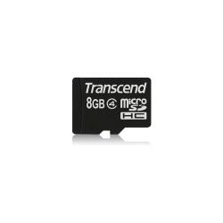 Memory Card Transcend microSDHC 8GB, class 4