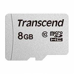 Memory Card Transcend SD300S microSDHC, 8GB, Clasa 10