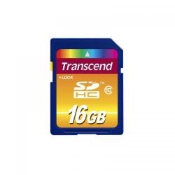 Memory card Transcend SDHC 16GB, Clasa 10