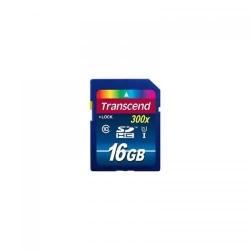 Memory Card Transcend SDHC, 16GB, Clasa 10