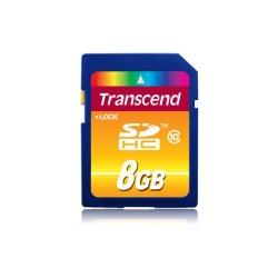 Memory Card Transcend SDHC 8GB, class 10