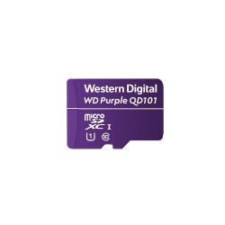 Memory Card Western Digital Purple SC QD101 microSDXC 128GB, Class10
