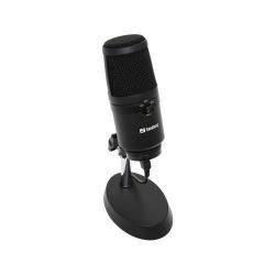 Microfon Sandberg Studio Pro, USB, Black