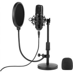 Microfon Tracer Premium Pro, Black