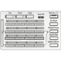 MK-749, panou de comanda pentru functiile de scanare si fax, pentru Bizhub 226