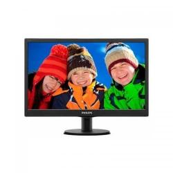 Monitor LED Philips 193V5LSB2/10, 18.5inch, 1366x768, 5ms, Black