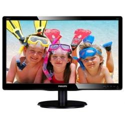 Monitor LED Philips 200V4LAB2/00, 19.5inch, 1600x900, 5ms, Black