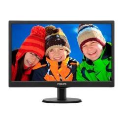 Monitor LED Philips 203V5LSB26, 19.5inch, 1600x900, 5ms, Black