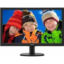 Monitor LED Philips 243V5QHSBA, 23.6inch, 1920x1080, 8ms GTG, Black