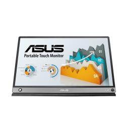 Monitor LED Portabil Asus MB16AMT, 15.6inch, 1920x1080, Dark gray