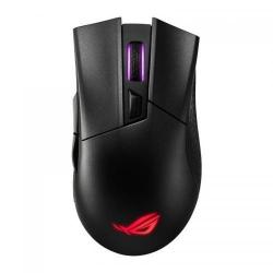 Mouse Optic ASUS ROG Gladius II, RGB LED, USB wireless, Black