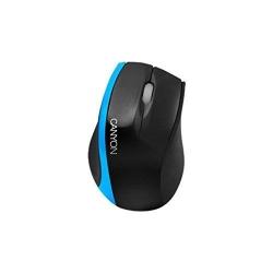 Mouse Optic CANYON CNR-MSO01NBL, USB, Black/Blue
