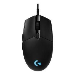 Mouse Optic Logitech G Pro Hero, RGB LED, USB, Black