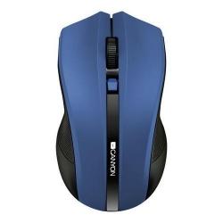 Mouse Optic Canyon CNE-CMSW05BL, USB Wireless, Blue-Black