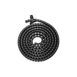 Organizator cabluri ASSMANN DA-90508, 5m, Black