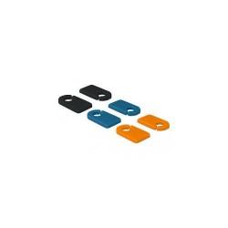 Organizator cabluri Delock clip 6x, Multicolor