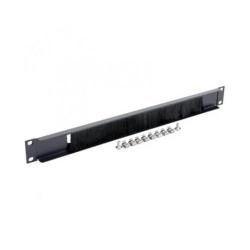 Organizator cabluri Gembird 19A-BRUSH-02, 19inch, 1U, Black