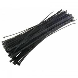 Organizator cabluri Techly 306356, 100buc, Black