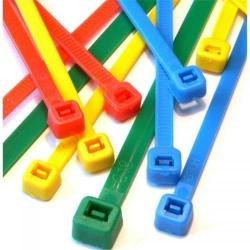 Organizator cabluri Techly 306479, 200 buc, Multicolor
