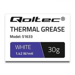 Pasta Termoconductoare Qoltec 51633, 30g, White